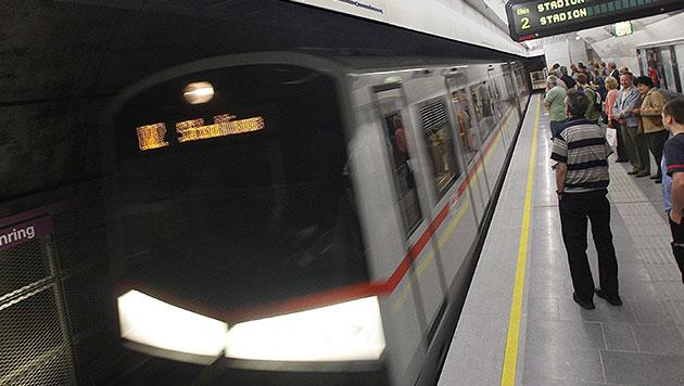 25-Jähriger von Zug der U2 eingeklemmt - tot (Bild: APA/Herbert Pfarrhofer (Symbolbild))