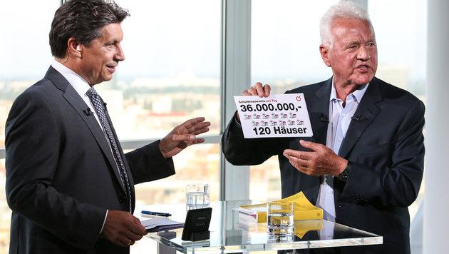 """Frank Stronach: """"Wir haben viele Fehler gemacht"""" (Bild: ORF/Milenko Badzic)"""