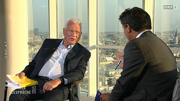 """Frank Stronach: """"Wir haben viele Fehler gemacht"""" (Bild: ORF)"""