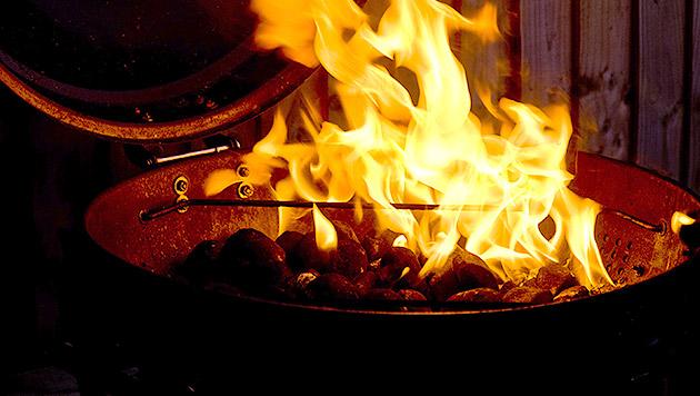 Grill-Unfall: Steirer stand komplett in Flammen (Bild: thinkstockphotos.de)