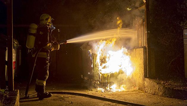 Brandstiftung in Krems - der Hintergrund: Feuerwehrmann soll Kamerad dazu genötigt haben. (Bild: FF Krems/M. Wimmer)