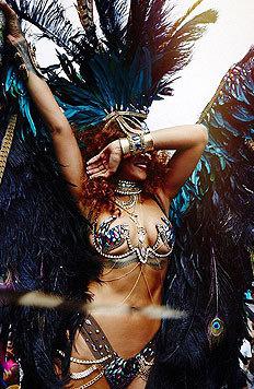 Das schafft nur sie: Rihanna versext den Karneval ihrer Heimat Barbados. (Bild: Viennareport)