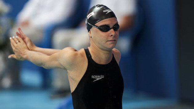 Schwimm-WM: Lisa Zaiser im Vorlauf out (Bild: GEPA)