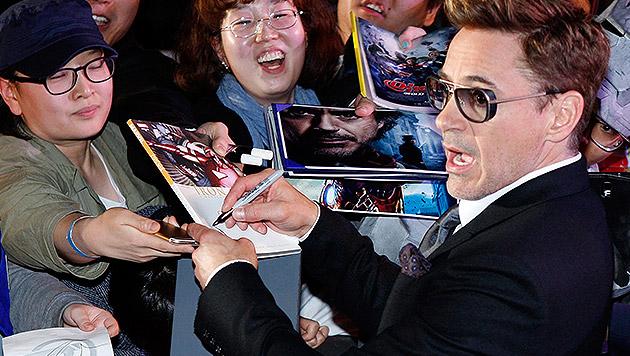Robert Downey Jr. bestbezahlter Schauspieler (Bild: APA/EPA/KIM HEE-CHUL)