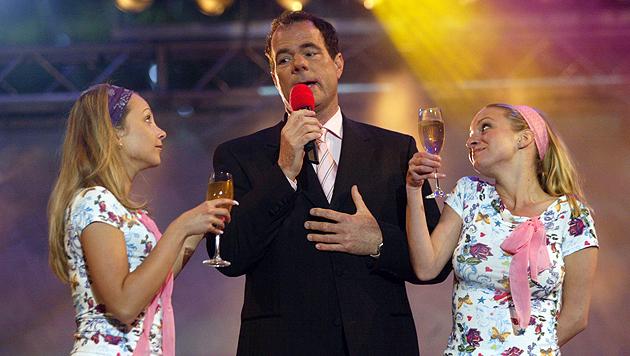 Bei einem Auftritt 2004 (Bild: Sepp Pail)