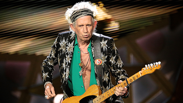 Keith Richards lästert über die Beatles (Bild: AP)