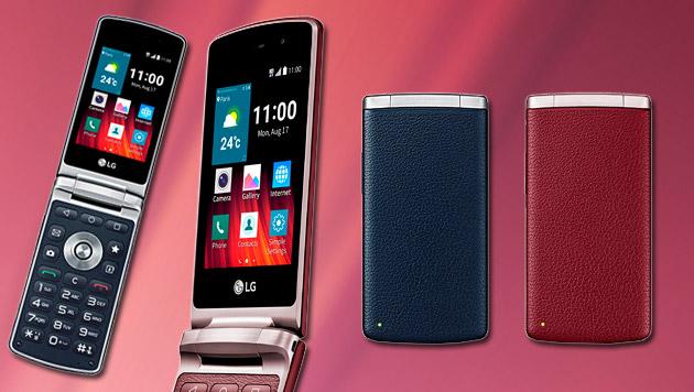LG bringt Klapphandy mit Android 5 nach Österreich (Bild: LG)