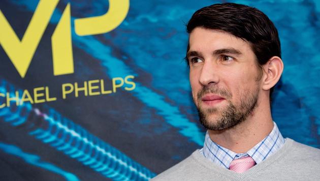 "Michael Phelps: ""Bis nach Rio kein Alkohol mehr!"" (Bild: APA/EPA/SVEN HOPPE)"