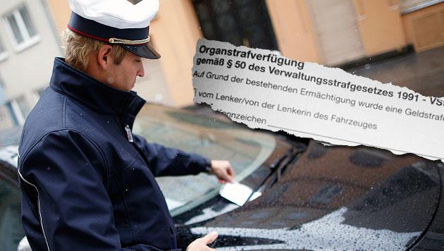Nicht gegendert: Millionen Strafzettel unbrauchbar (Bild: APA/GEORG HOCHMUTH, Kronen Zeitung)