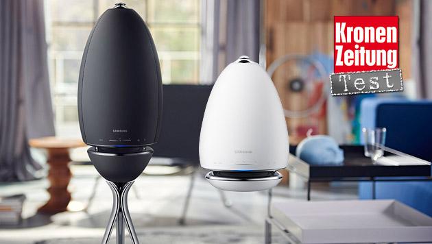 R6 und R7: WLAN-Sound-Eier von Samsung im Test (Bild: Samsung)
