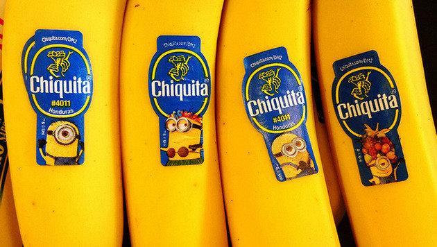 """""""12 Geheimnisse über die Minions (Bild: Chiquita Deutschland GmbH)"""""""
