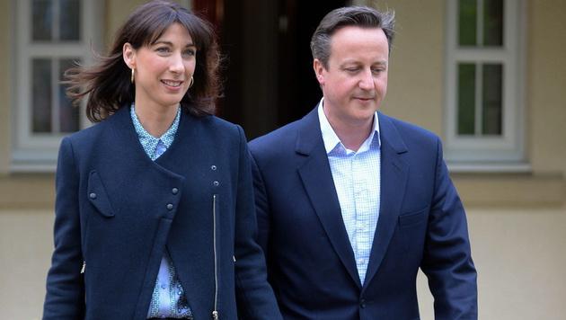 """Britische """"First Lady"""" ist """"Best Dressed Woman"""" (Bild: APA/EPA/STR)"""