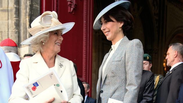 "Britische ""First Lady"" ist ""Best Dressed Woman"" (Bild: APA/EPA/LEON NEAL / POOL)"