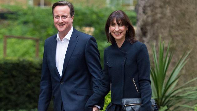 "Britische ""First Lady"" ist ""Best Dressed Woman"" (Bild: APA/EPA/FACUNDO ARRIZABALAGA)"