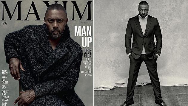 """Erstmals ziert ein Mann das Titelbild der """"Maxim"""" (Bild: instagram.com/maximmag)"""