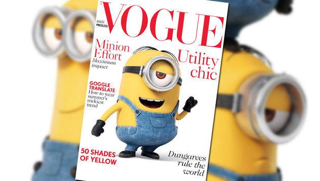 """""""12 Geheimnisse über die Minions (Bild: Vogue)"""""""