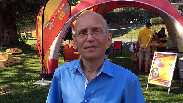 """WiG-Geschäftsführer Dennis Beck (Bild: """"Krone"""")"""