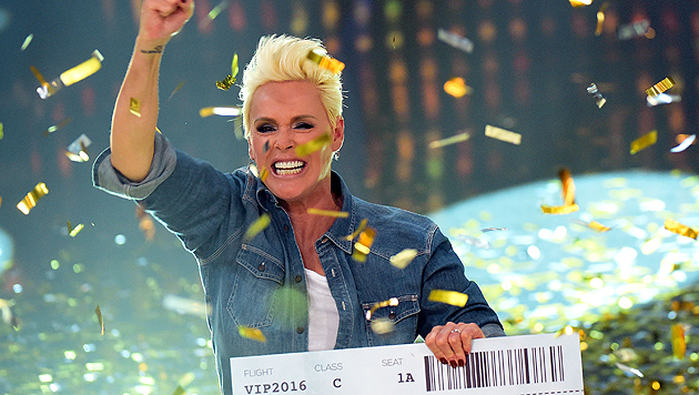 "Dschungel-""VIP"" Brigitte Nielsen (Bild: APA/dpa/Henning Kaiser)"