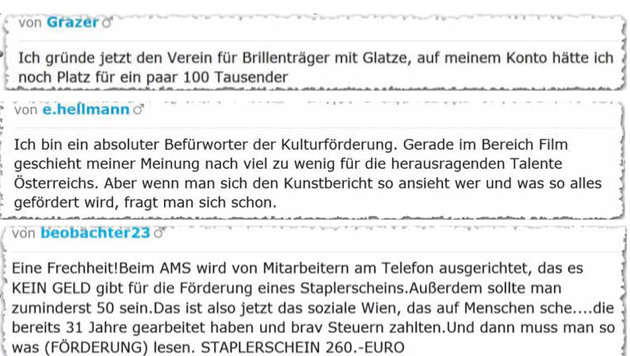 "Emotionale Reaktionen der ""krone.at""-User (Bild: krone.at)"