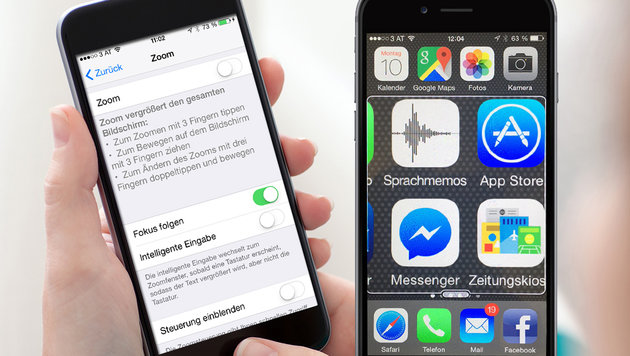 """Pimp up your iPhone (Bild: City4U)"""
