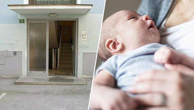 Baby in Stiegenhaus war Folge eines Seitensprungs (Bild: APA/JACK HAIJES, thinkstockphotos.de (Symbolbild))