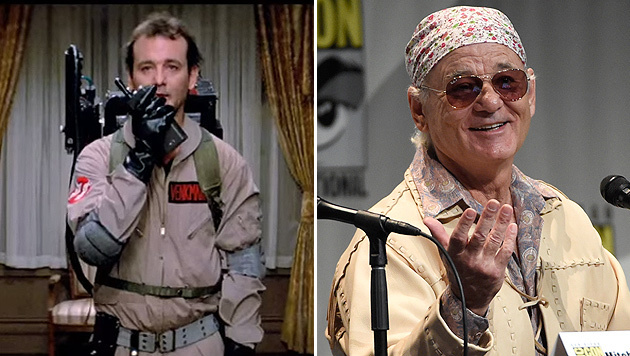 "Bill Murray ist in ""Ghostbusters 3"" mit dabei (Bild: Screenshot YouTube, Chris Pizzello/Invision/AP)"