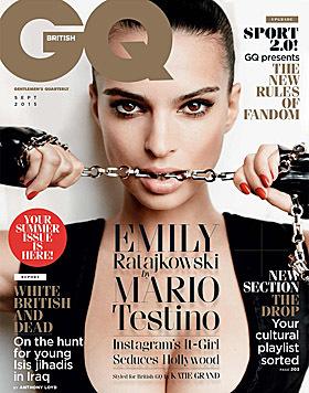 """Emily Ratajkowski sexy im """"GQ"""" (Bild: GQ)"""