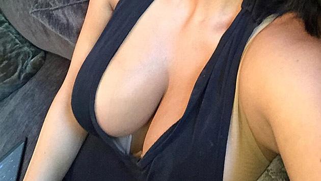 Kim Kardashian belohnt ihre Fans mit diesem heißen Schnappschuss. (Bild: instagram.com/kimkardashian)