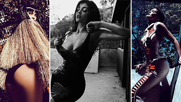 Kylie Jenner postete diese heißen Fotos zum 18. Geburtstag. (Bild: instagram.com/kyliejenner)