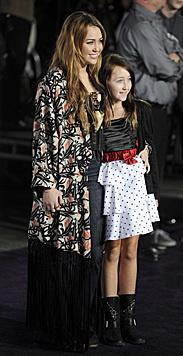 So herzig waren Miley Cyrus und ihre kleine Schwester Noah vor einigen Jahren noch. (Bild: MIKE NELSON/EPA/picturedesk.com)