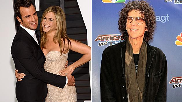 Howard Stern verrät exklusive Details zur Hochzeit von Jennifer Aniston und Justin Theroux. (Bild: Evan Agostini/Invision/AP, APA/EPA/NINA PROMMER)