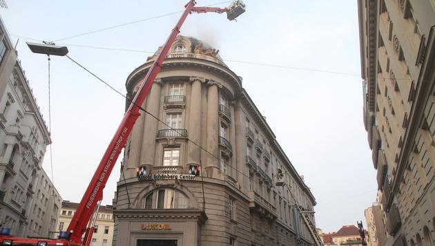 Arnold-Schönberg-Center vorübergehend geschlossen (Bild: Andi Schiel)