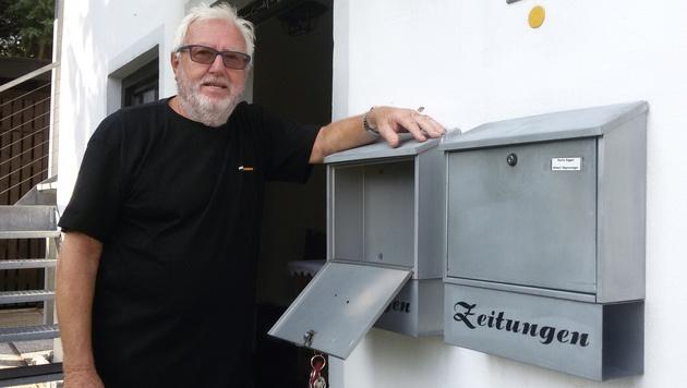 Paul Knapp wartete von Dienstag bis Freitag vergeblich auf Post. (Bild: Andreas Moser)