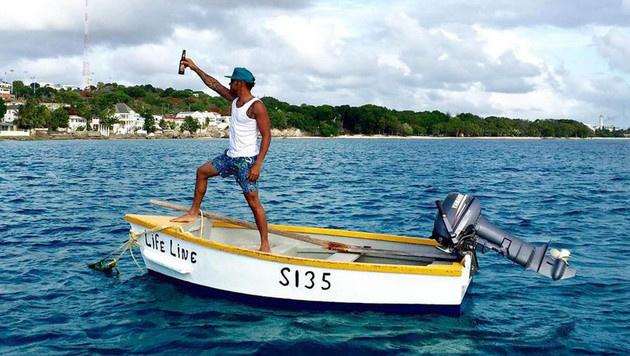 Gemeinsame Urlaubsschnappschüsse haben Lewis Hamilton und Rihanna aber nicht gepostet. (Bild: Viennareport)