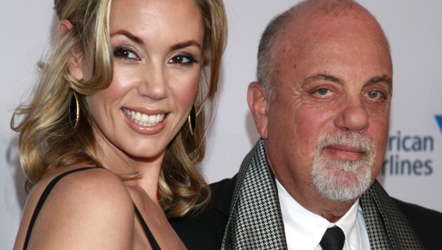 Billy Joel und Ehefrau Alexis Roderick (Bild: Carlo Allegri/Invision/AP)