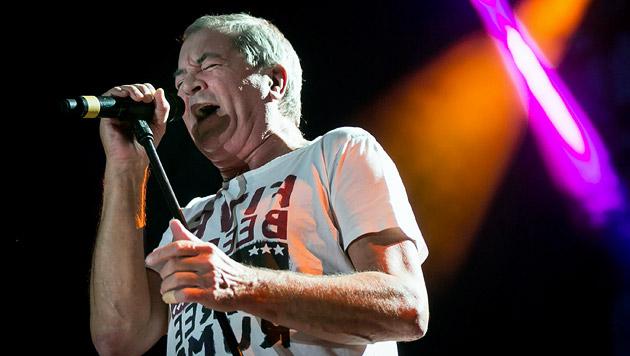 Deep-Purple-Sänger Ian Gillan wird 70 (Bild: BALAZS MOHAI /EPA/ picturedesk.com)