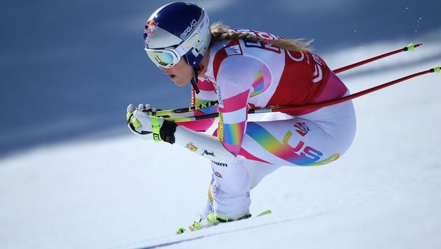 Lindsey Vonn: Rechter Knöchel gebrochen (Bild: GEPA)