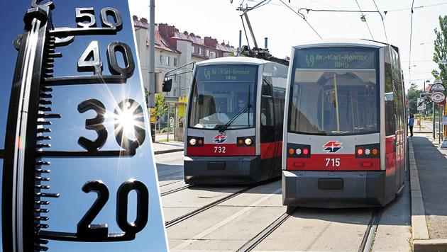 Wiener Grüne fordern Gratis-Öffis an Hitzetagen (Bild: Wiener Linien/Manfred Helmer, dpa)