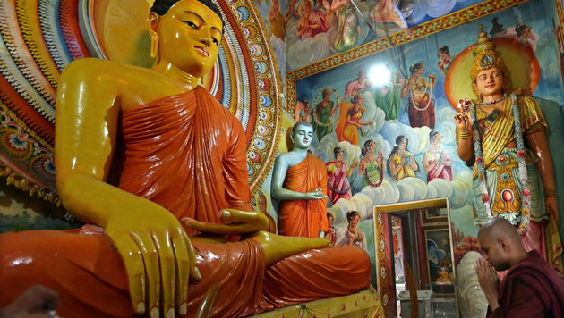 Sri Lanka: Strahlend schönes Land (Bild: APA/EPA/M.A.PUSHPA KUMARA)