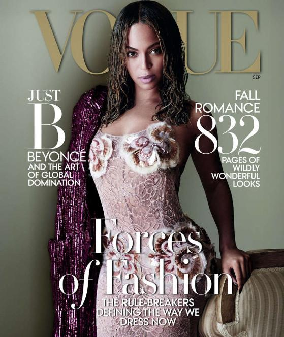 """Beyoncé als Fashion-Star! (Bild: Vogue/Mario Testino)"""
