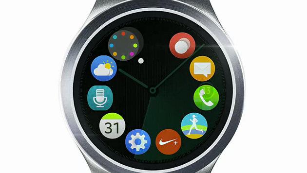 Samsung kündigt seine erste runde Smartwatch an (Bild: Samsung)