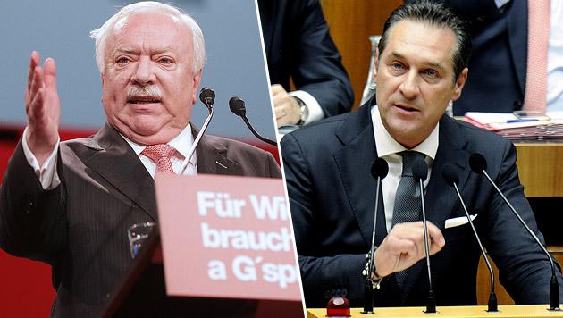 Wien-Wahlkampf: Parteien investieren 19 Mio. Euro (Bild: APA/GEORG HOCHMUTH, APA/HERBERT PFARRHOFER)