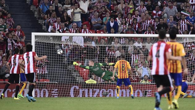 Lotst Guardiola diesen Barca-Star zu ManCity? (Bild: AP)