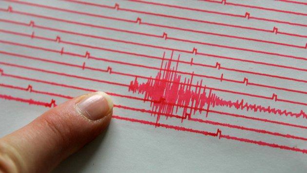 Erdbeben der Stärke 3,1 im Raum Obergurgl in Tirol (Bild: APA/ROLAND SCHLAGER (Symbolbild))