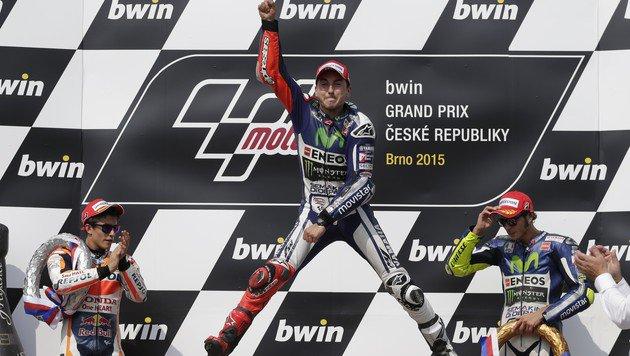 Lorenzo übernimmt mit Brünn-Sieg Gesamtführung (Bild: AP)