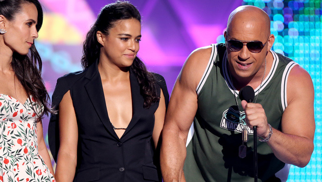 Vin Diesel gedachte bei den Teen Choice Awards Paul Walker. (Bild: Matt Sayles/Invision/AP)