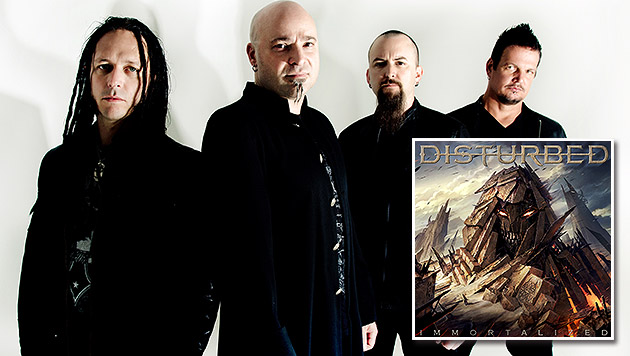 """Disturbed: """"Die Unsterblichkeit ist greifbar!"""" (Bild: Warner Music)"""