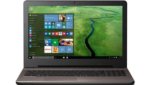 neuer hofer laptop kommt mit core i3 windows 10 ab 27. Black Bedroom Furniture Sets. Home Design Ideas
