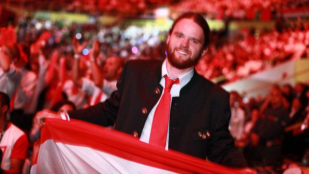 Strahlender Sieger: Marius Golser holte bei den World Skills im brasilianischen São Paulo Gold. (Bild: World Skills)