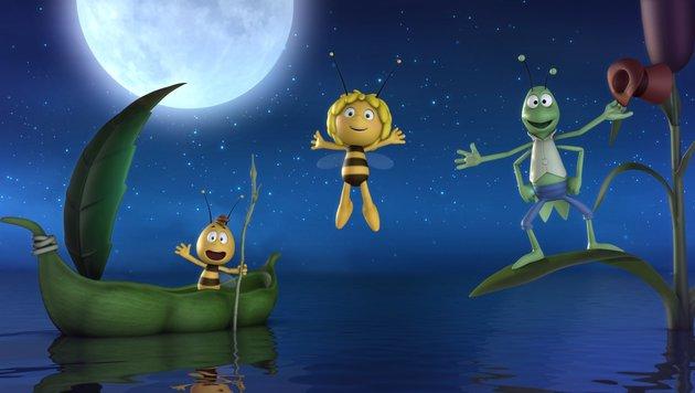 """Die """"Biene Maja"""" und ihre Freunde (Bild: Studio 100 Media/2012 Studio Animation SAS)"""